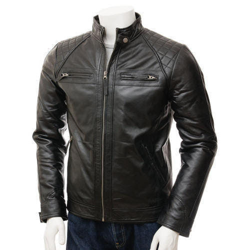 Leather Motorbike Jackets TR 136