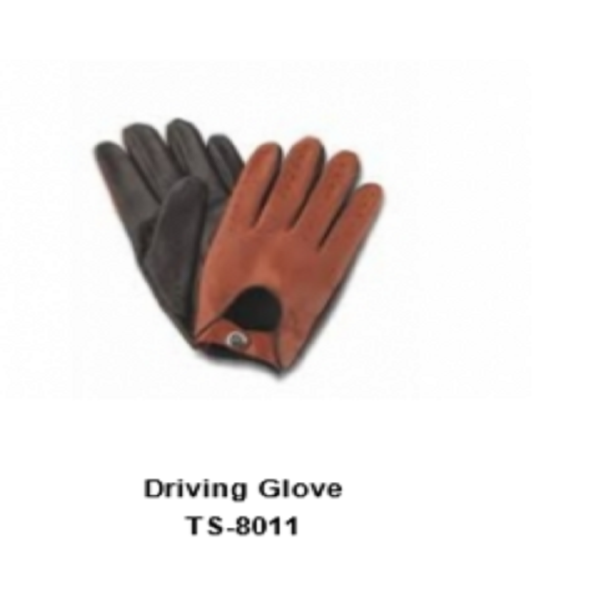 Leather Men's Fashion Driving Gloves Model No. TSI 8011