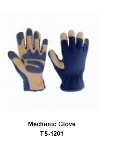 Mechanic Flex Grip Work Gloves, Shrink Resistant, Improved Dexterity, Tough, Stretchable, Excellent Grip TSI 1201