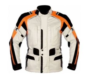 Men Cordura Leather Jacket TSI­-1702