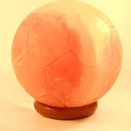 Ball Handcrafted Himalayan Salt Lamp Model No. SL 09
