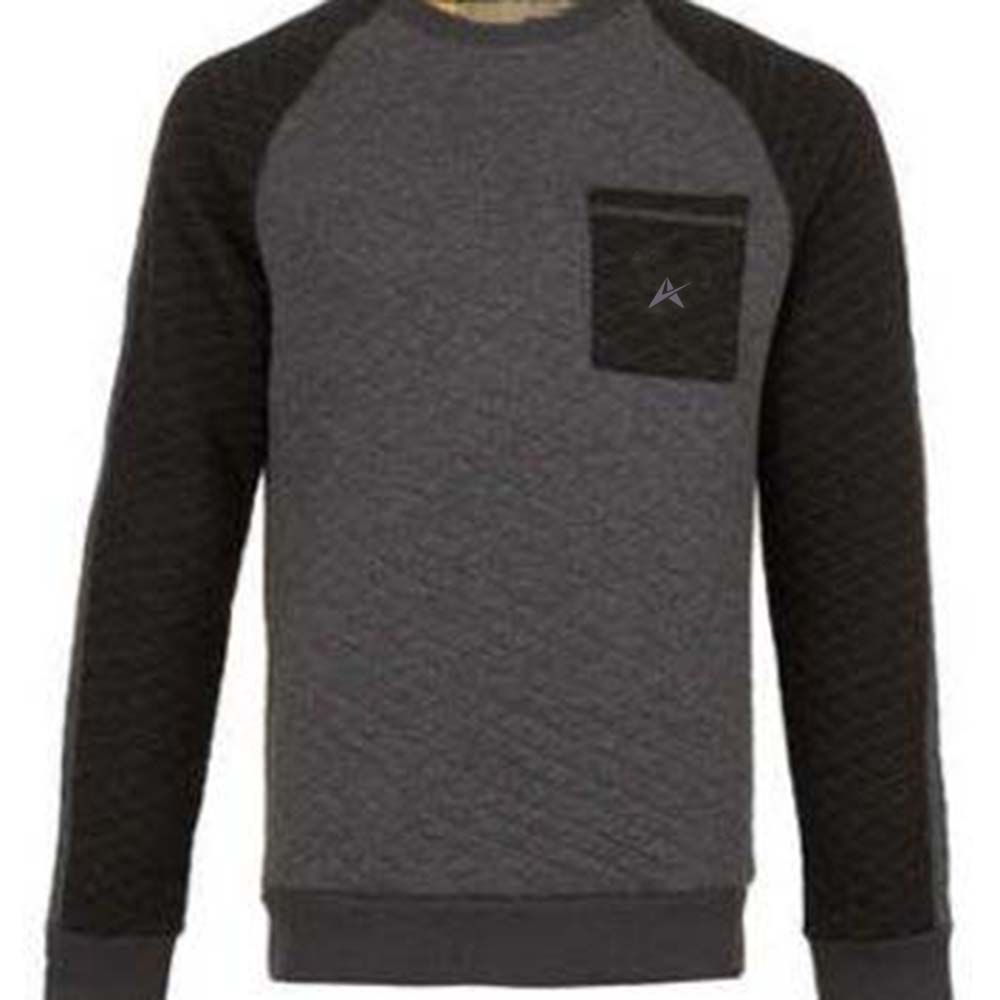 Men Fleece, Breathable, Comfortable-Fitted Sweat Shirt  A1-411