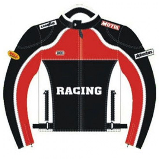 Motorbike Leather Jackets DRM-303