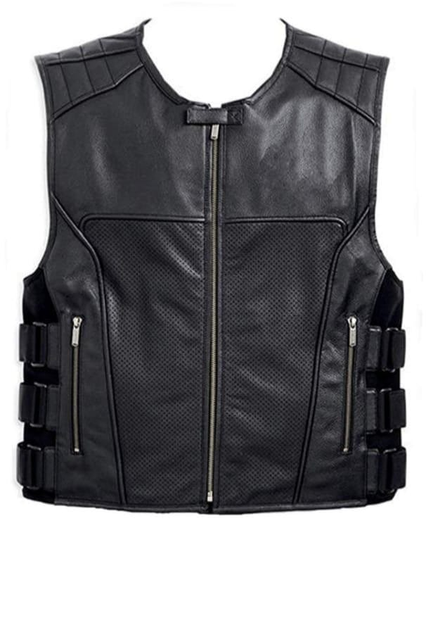 Swat Motorbike Leather Vest TR 135
