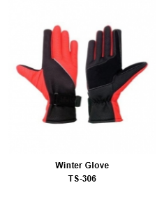 Winter Gloves for Men and Women Thermal Soft Wool Lining - Knit Stretchy Material TSI  306