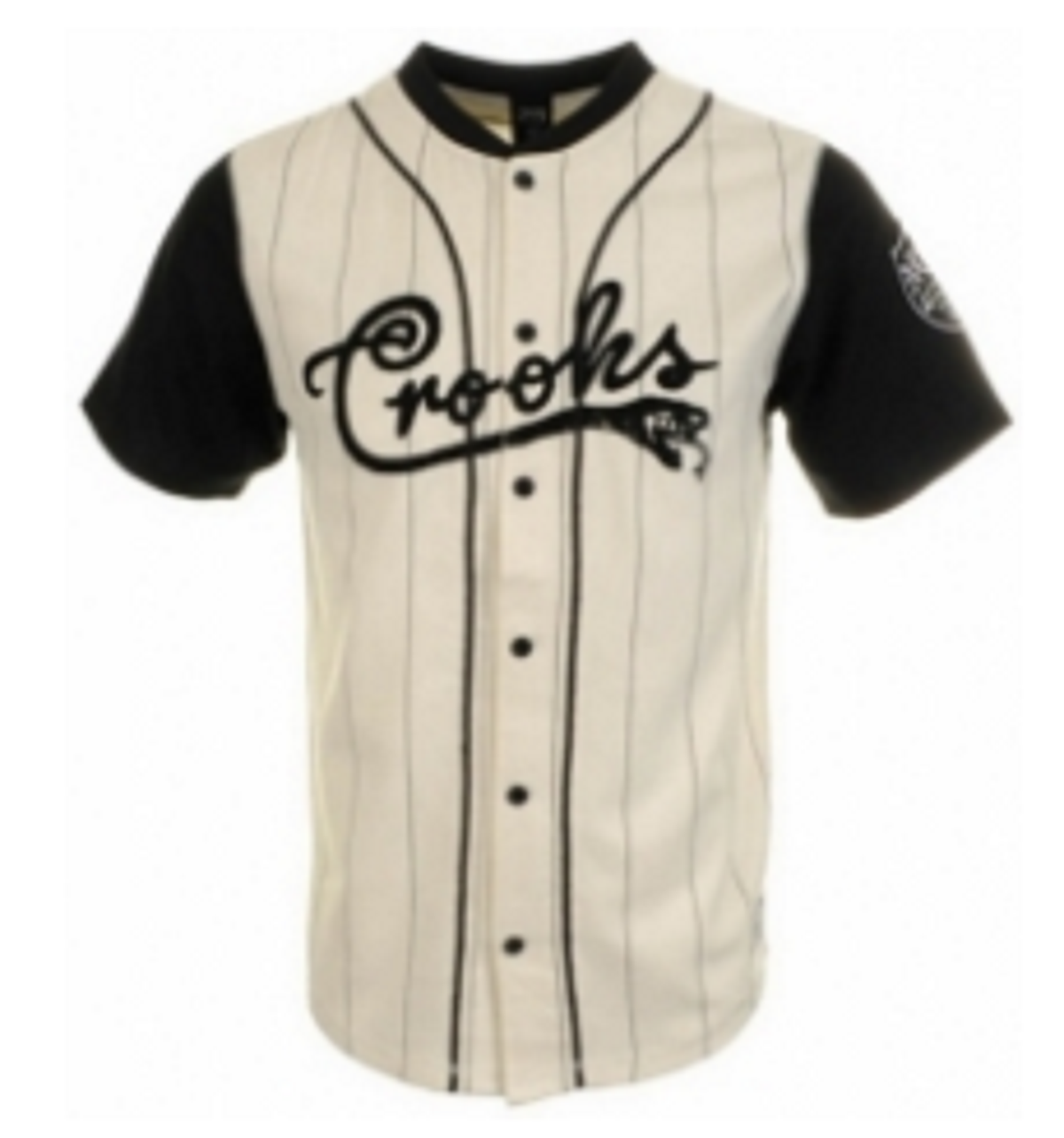 Baseball Uniforms White & Black Model No TSI­5503