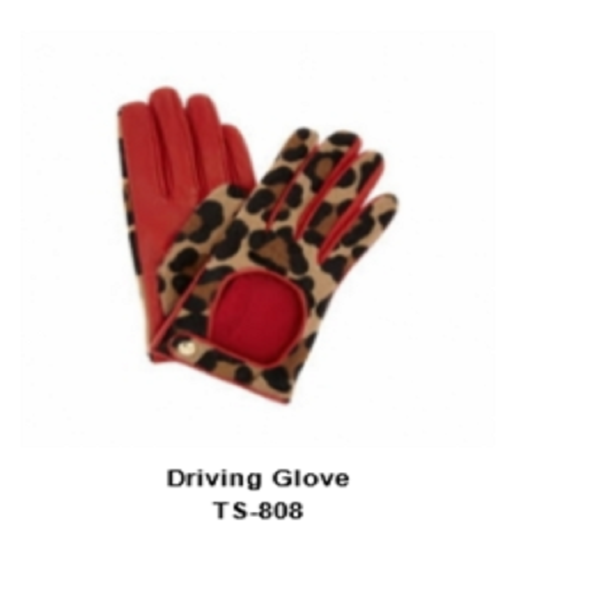 Leather Men's Fashion Driving Gloves Model No. TSI 808