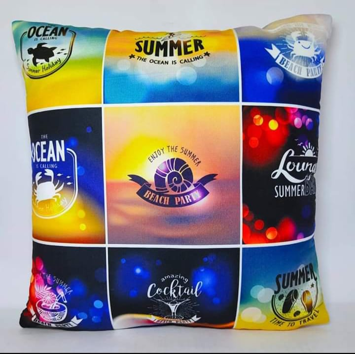 Digital Print Cushion Cover 100% Cotton Satin AIT-010