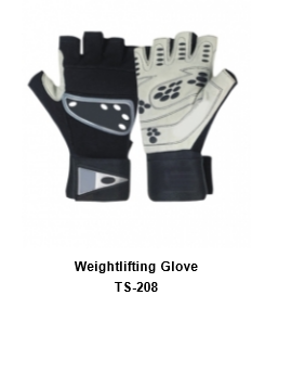 Weight Lifting Gym Workout Gloves with Wrist Wrap Support for Men & Women TSI  208