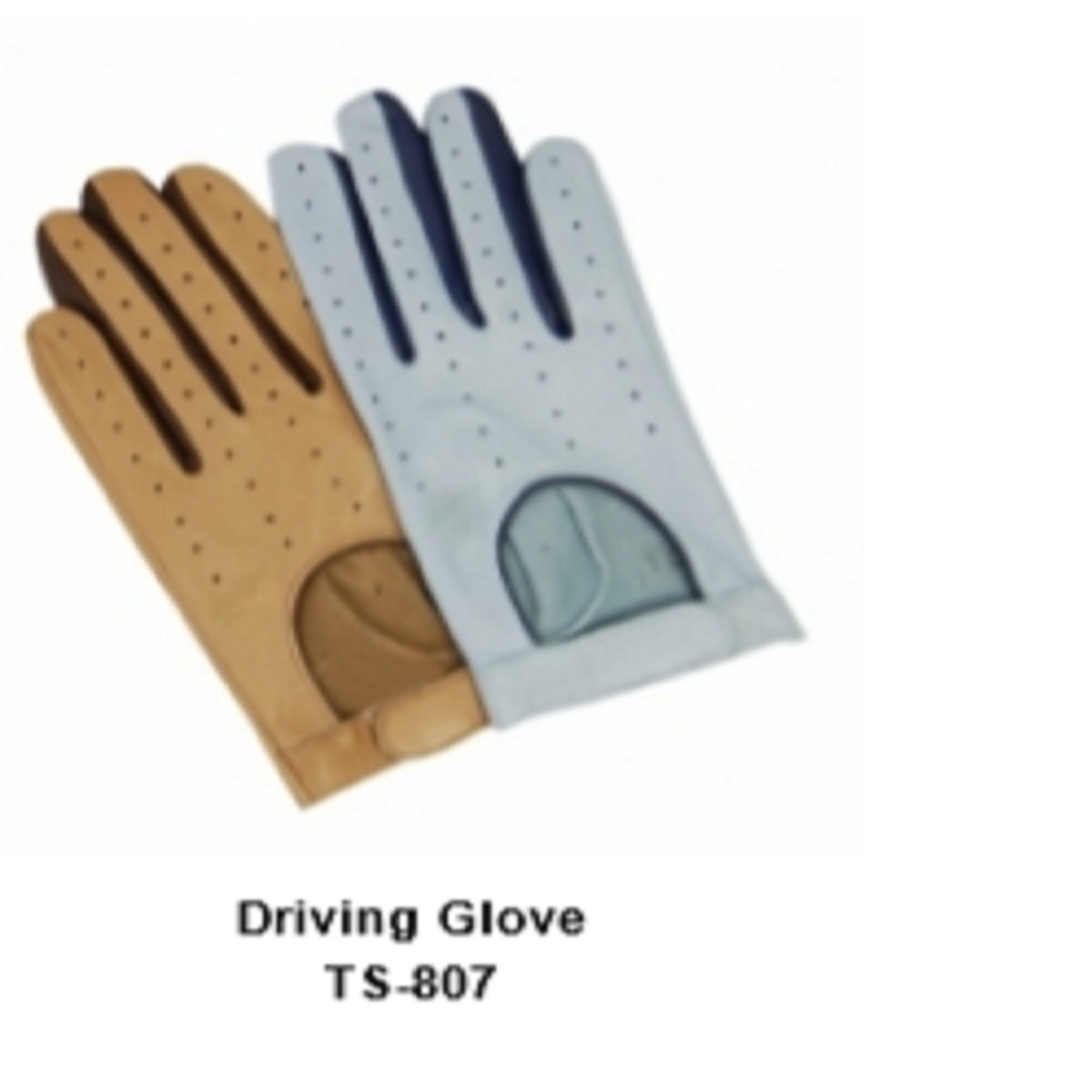 Leather Men's Fashion Driving Gloves Model No. TSI 807