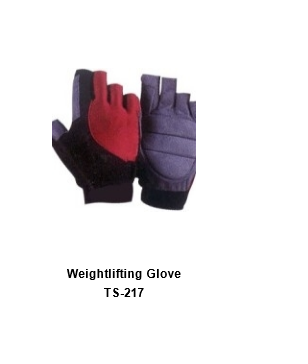 Weight Lifting Gym Workout Gloves with Wrist Wrap Support for Men & Women TSI  217
