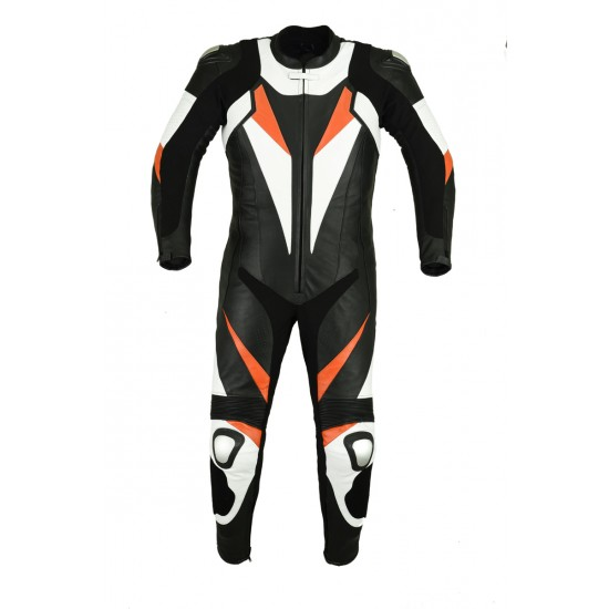 Motorbike & Auto Racing Leather Suit  DR-115