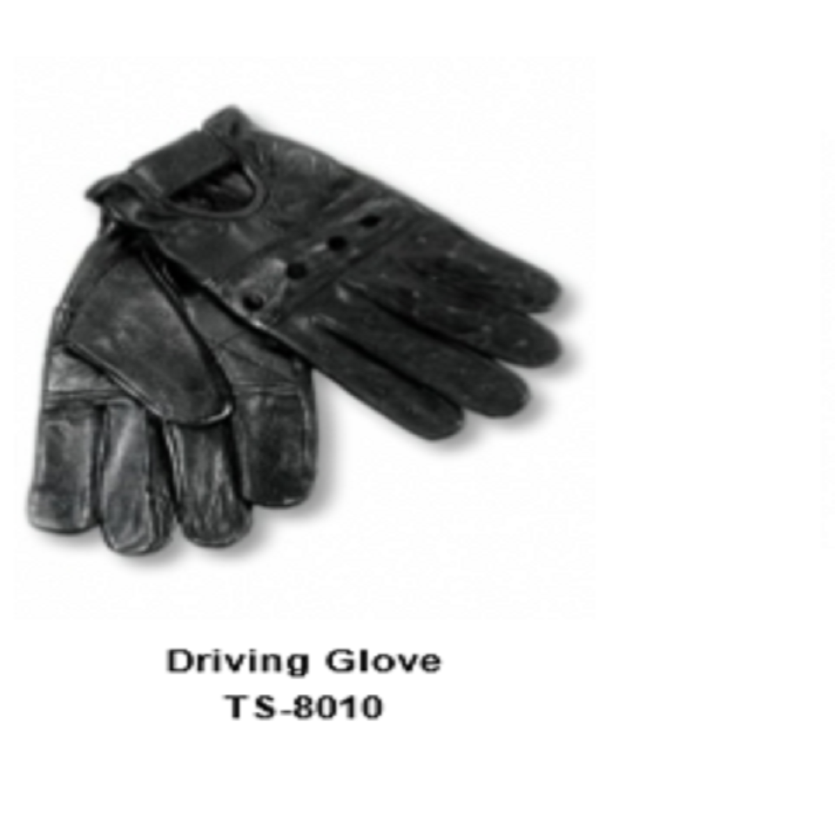 Leather Men's Fashion Driving Gloves Model No. TSI 8010