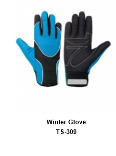 Winter Gloves for Men and Women Thermal Soft Wool Lining - Knit Stretchy Material TSI  309