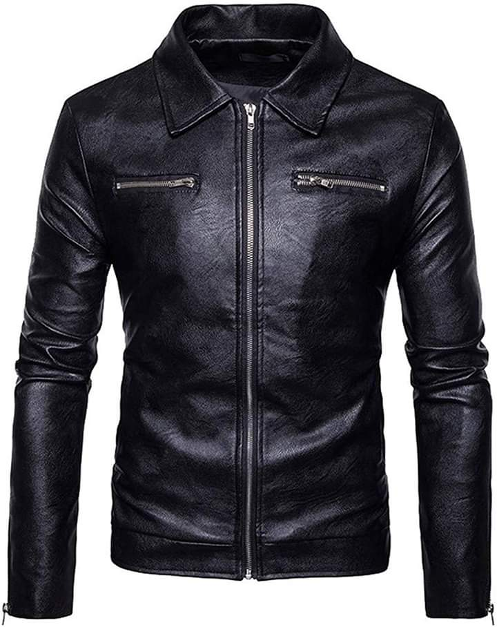 Motorcycle Men Leather Jackets  TIMJ  011
