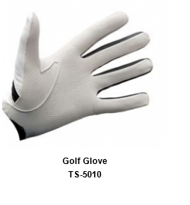Men's Golf Gloves white Model No.TSI 510