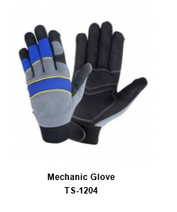 Mechanic Flex Grip Work Gloves, Shrink Resistant, Excellent Grip TSI 1204