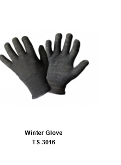 Winter Gloves for Men and Women Thermal Soft Wool Lining - Knit Stretchy Material TSI  316