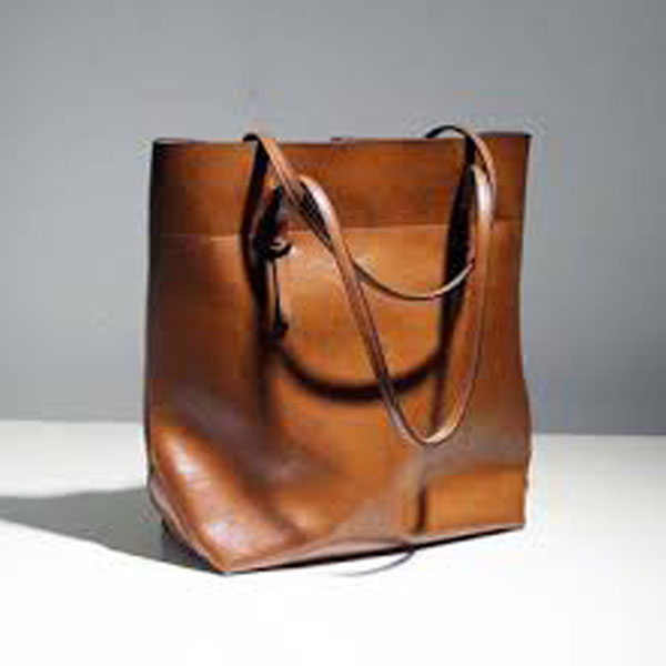Brown Ladies Leather Hand Bag SPLLB-1005