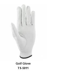 Men's Golf Gloves white Model No.TSI 511