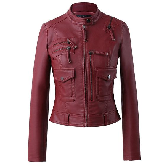 Women's Leather Short Jackets SSP 004