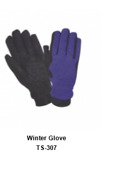 Winter Gloves for Men and Women Thermal Soft Wool Lining - Knit Stretchy Material TSI  307