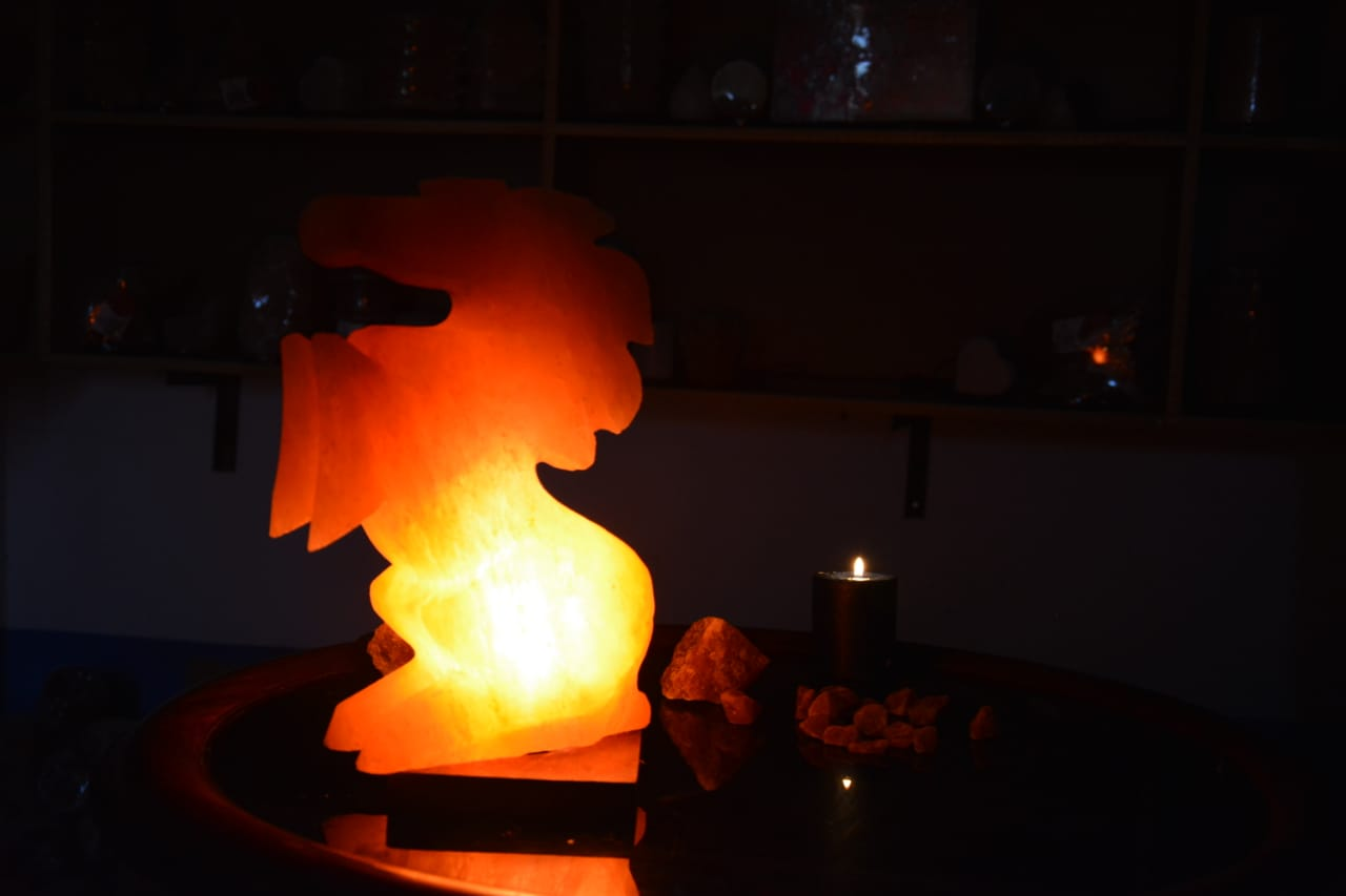 SUMBAL SALT  HORSE SHAPE LAMP  ZRS 0701