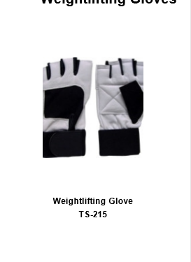 Weight Lifting Gym Workout Gloves with Wrist Wrap Support for Men & Women  TSI  215