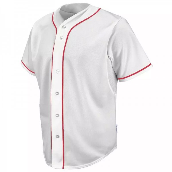 Premium Baseball Jersey Active Button Shirt Uniform for Men PES 002-002