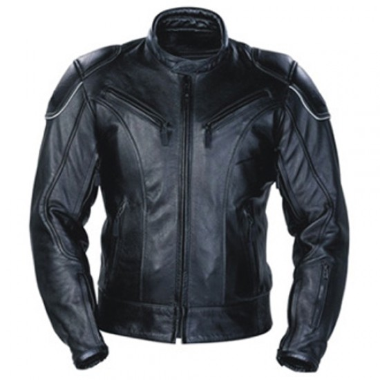Motorbike Leather Jackets DRM-302