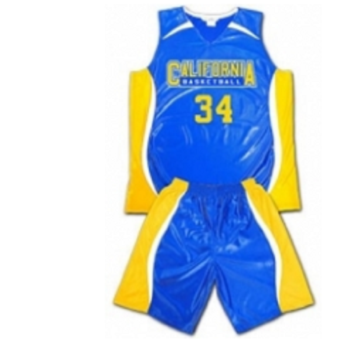 Basket Ball Uniforms Blue & Yellow Model No TSI­5409