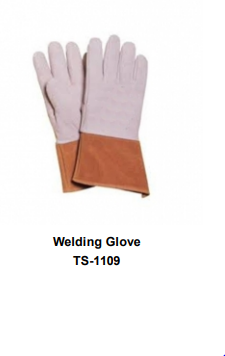Premium Leather Welding Gloves  Long Cuff TSI 1109