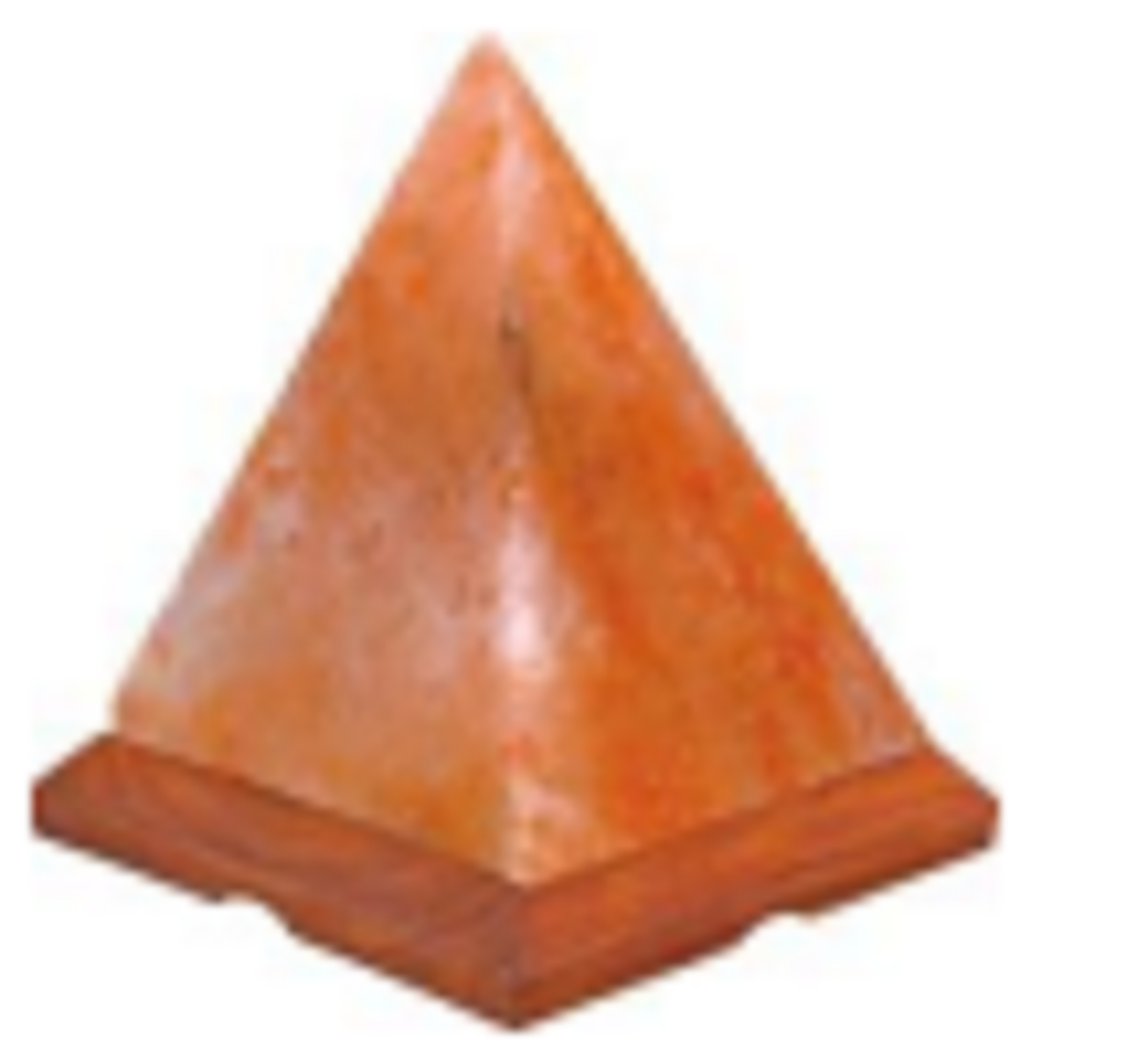 Himalayan Salt Lamp  PYRAMID SHAPE ZRS 0655