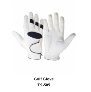 Men's Golf Gloves White Model No.TSI 505