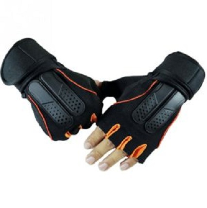 Gym Workout Gloves with Wrist Wrap Support Model No. CHS 15