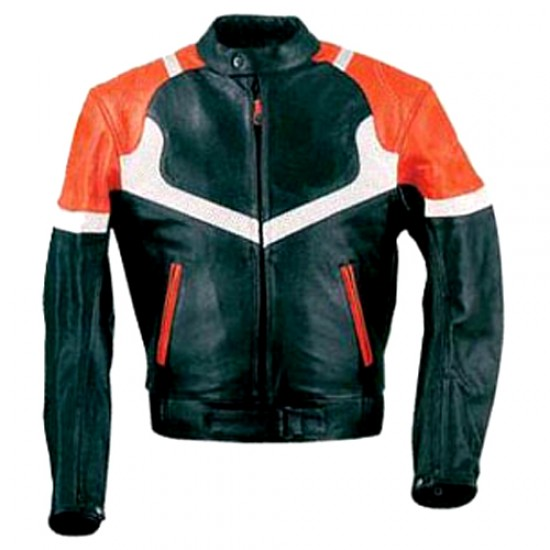 Motorbike Leather Jackets DRM-307
