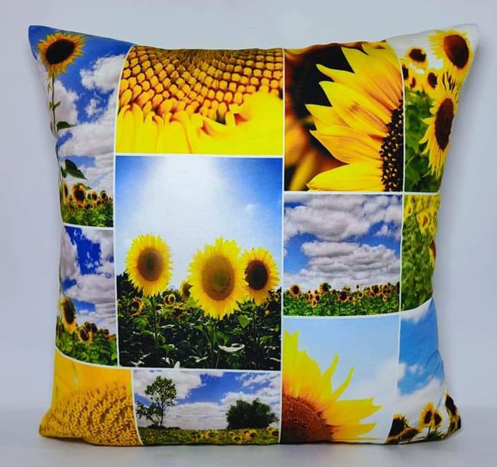 Digital Print Cushion Cover 100% Cotton Satin AIT-004