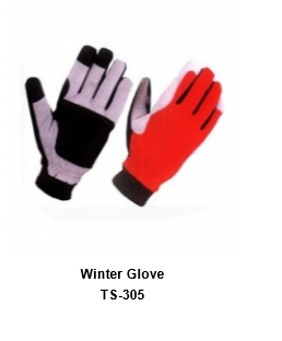Winter Gloves for Men and Women Thermal Soft Wool Lining - Knit Stretchy Material TSI  305
