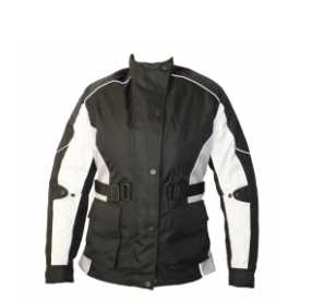 Men Cordura Leather Jacket TSI-­1706.