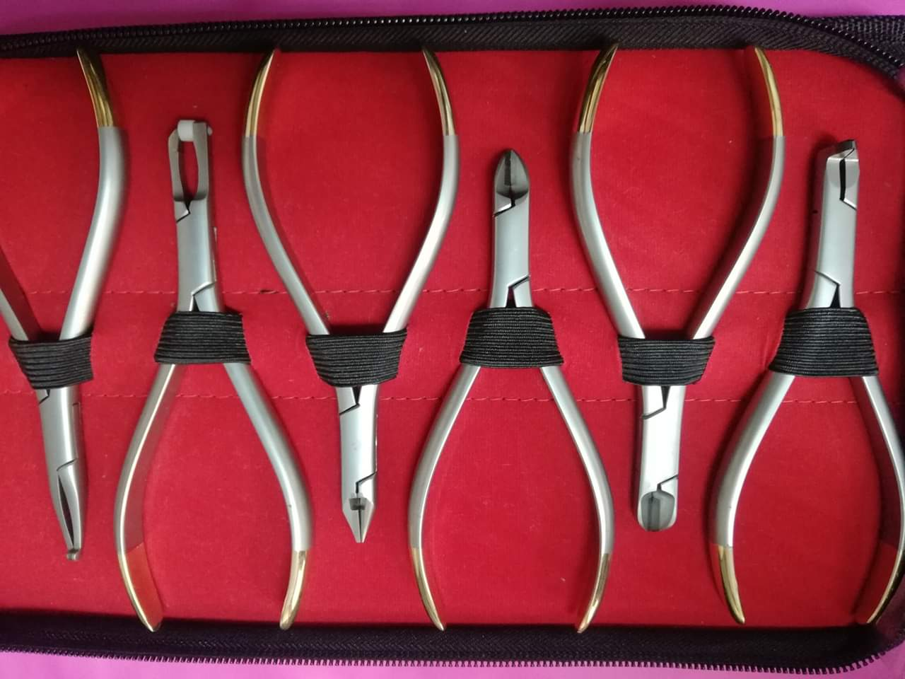 Dental Pliers TC Kit OS -1007