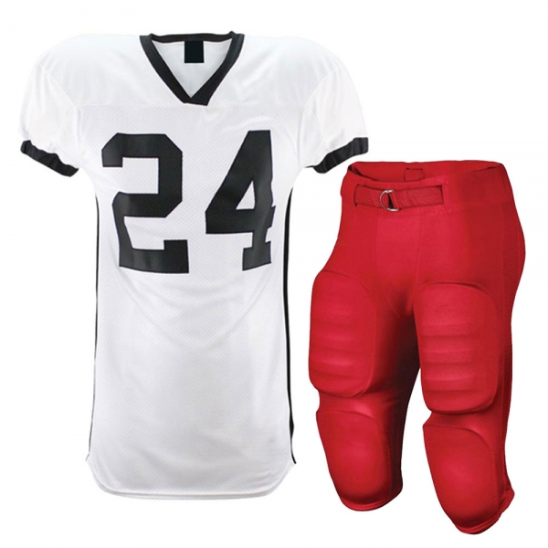 Adult Football Rawlings Pants And Jersey Team Uniforms  PES 001-001