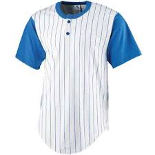 Premium Baseball Jersey Active Button Shirt Uniform for Men PES 002-005