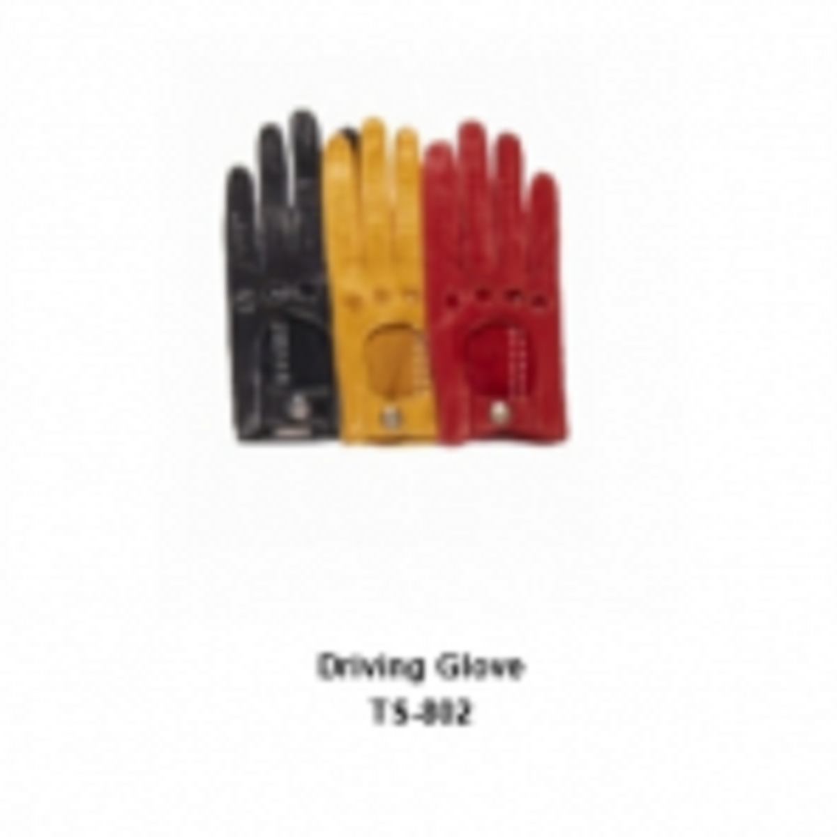 Leather Men's Fashion Driving Gloves Model No. TSI 802