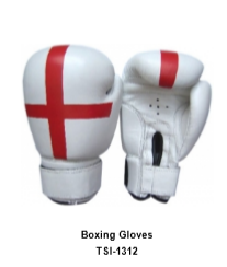 Genuine Leather Pro Style Boxing  Training Gloves TSI 1312