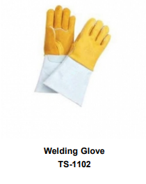 Premium Leather Welding Gloves  Long Cuff TSI 1102