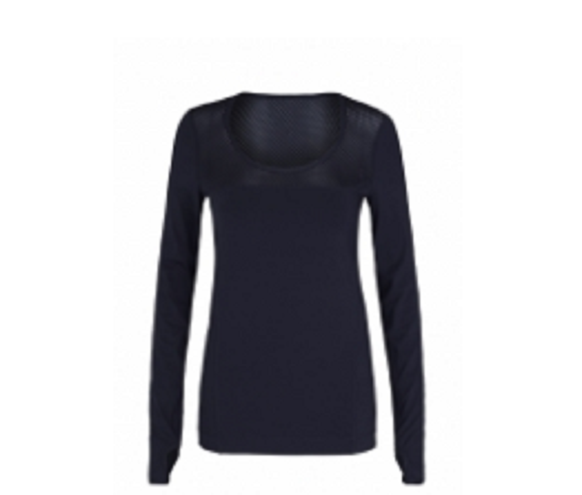 Ladies  Sports Tops Black TSI­-3409