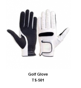 Men's Golf Gloves White Model No.TSI 501