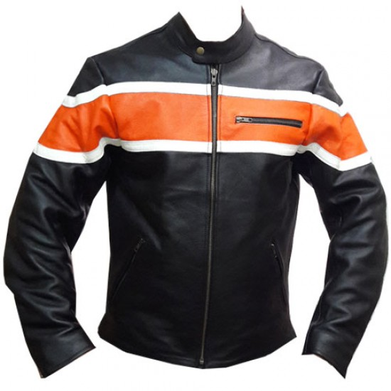 Motorbike Leather Jackets DRJ -301