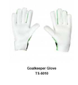Goalkeeper Gloves with Double Wrist Protection Black Model No. TSI TSI 610