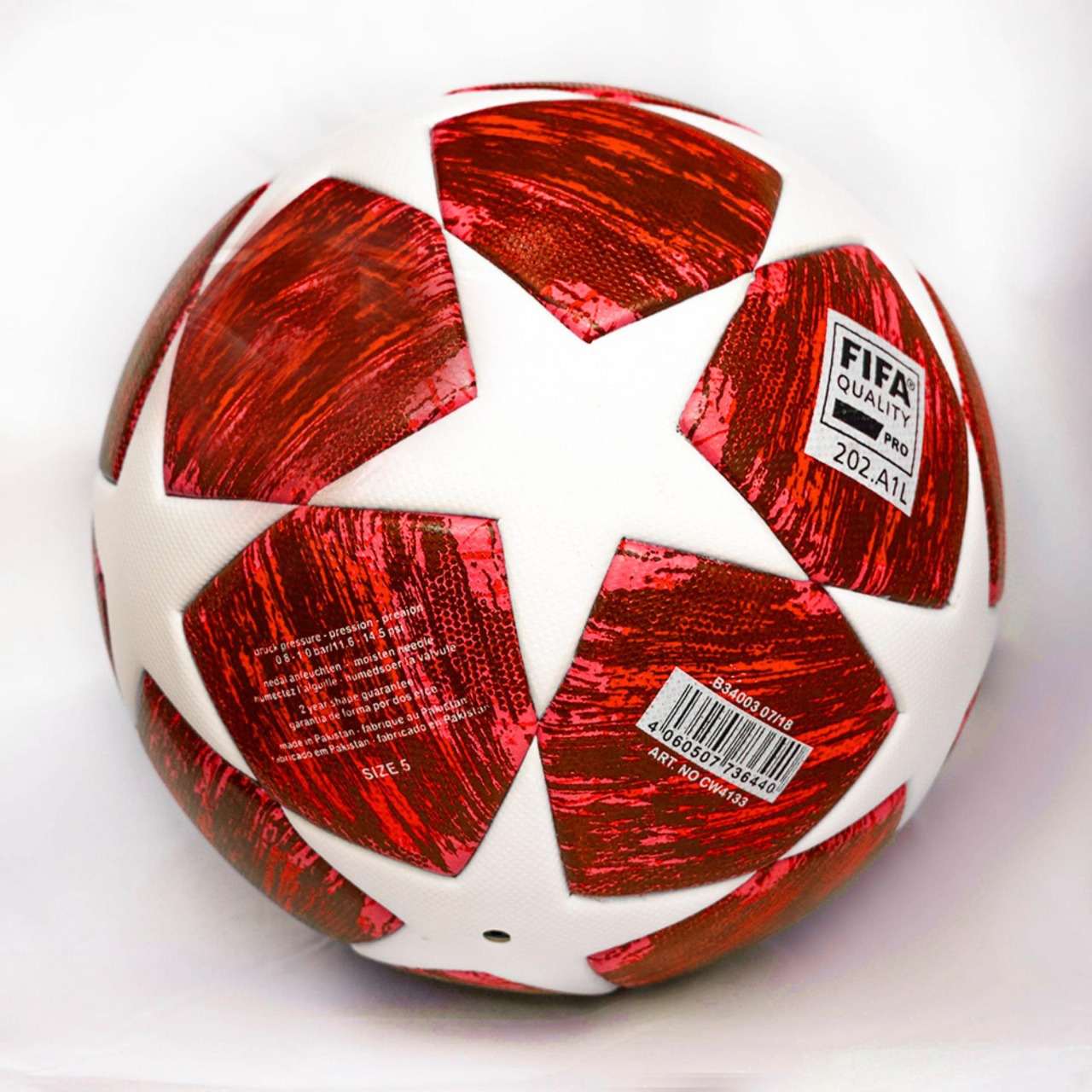 UEFA Champions League (RED EDITION) Thermal Moulded Football PE-512